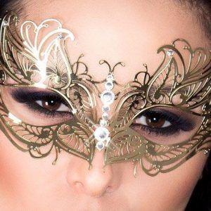 17 meilleures id es propos de masque papillon sur pinterest maquillage papillon maquillage - Maquillage loup facile ...