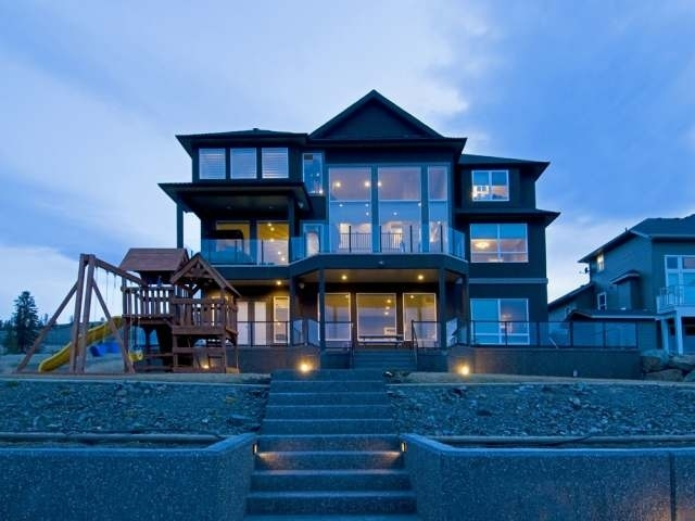 One of a kind 6,900 sq. ft. modern home in #Aberdeen in #Kamloops with amazing valley view.