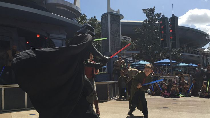 How to get your kid into the Jedi Training show at Disneyland