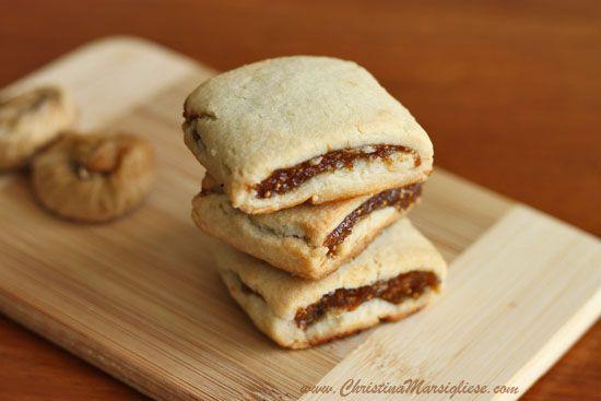 Spiced Fig Bars (homemade Fig Newtons) | BR0WNIES & BARS! | Pinterest