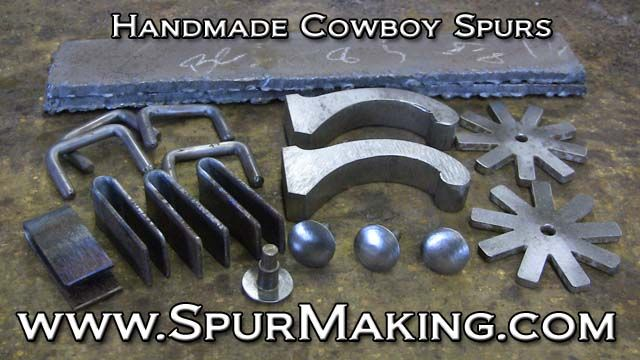 handmade spurs | Spur Making Cowboy Spurs by Bruce Cheaney1 Spur Making Custom Spurs