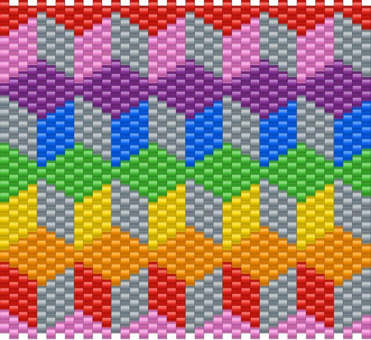 3D BLOCK PATTERN bead pattern