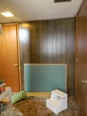 how to put wood paneling in turf house