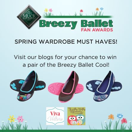The Muck Boot Company Breezy Ballet Cool #Giveaway – US