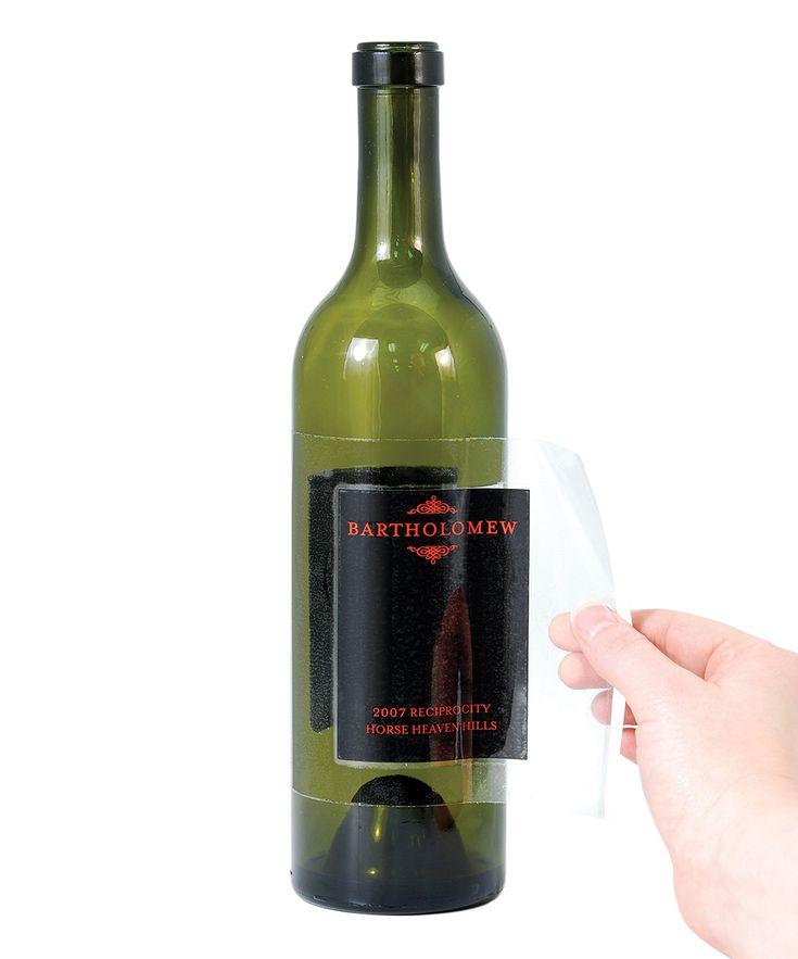 Wine Label Remover - Set of 10