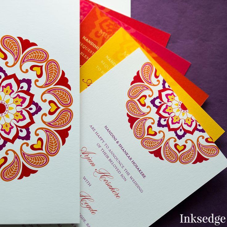 The 147 best Designer Wedding Invitation Cards images on Pinterest ...