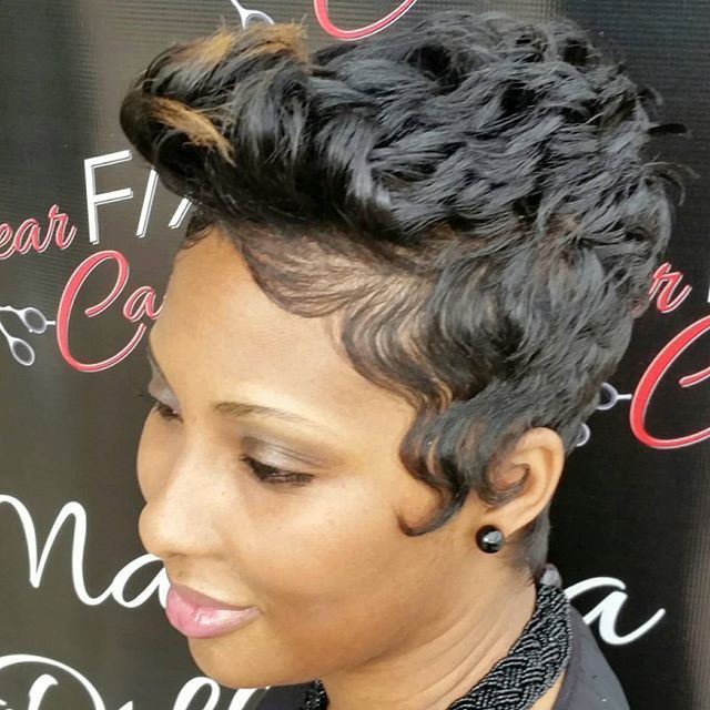 Short Hairstyles Black Hair Interesting 565 Best Short Hair Like Nia Longimages On Pinterest  Hair Cut