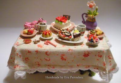 Mini Escenas, Miniaturas by Eva Perendreu: My primera Feria Miniaturas online - My first Online Miniature Show