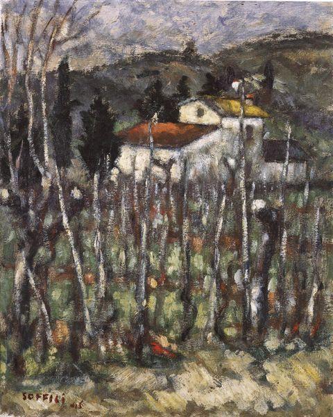 "lilithsplace: "" 'The Barni', 1946 - Ardengo Soffici (1879 –1964) """
