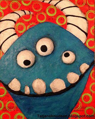 Meet The Creative Part of Me : Et monster sejt relief