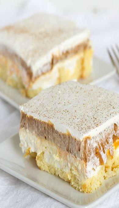 No-Bake Twinkie Pumpkin Pie