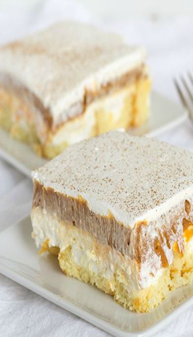No-Bake Twinkie Pumpkin Pie