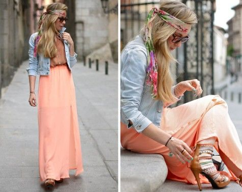 Jeans Jackets, Clothing, Hippie Style, Outfit, Long Skirts, Maxis Dresses, Summer, Maxi Skirts, Maxis Skirts