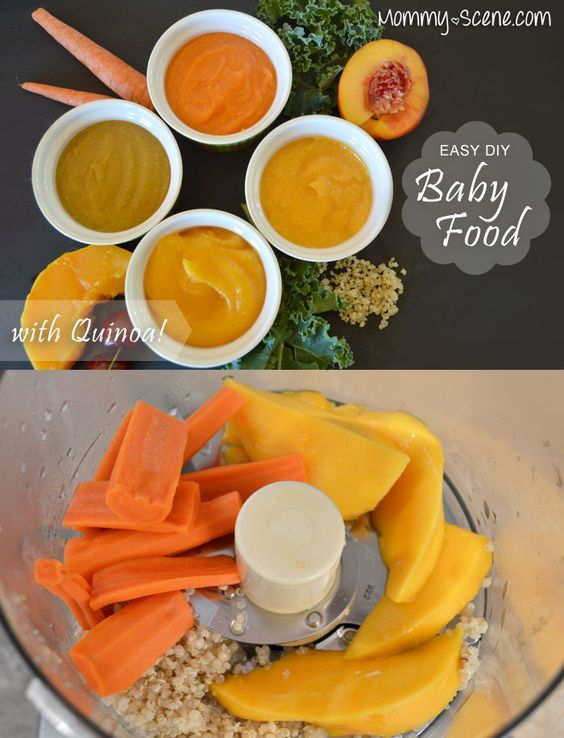4 Easy, yummy and homemade baby food combinations with quinoa that your baby will love!