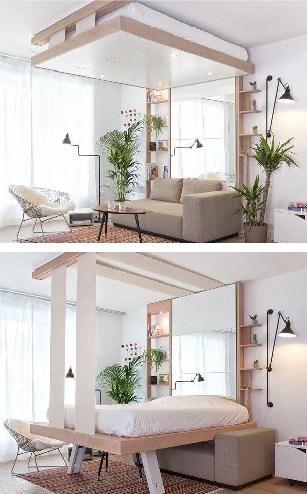 BedUp® MUEBLES CINIUS | Einzimmerwohnung einrichten, Wohnung ...