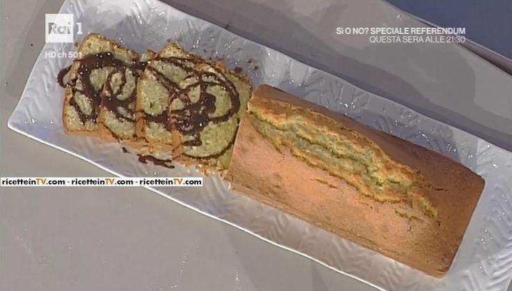 """La ricetta del plum cake al cocco di Anna Moroni del 16 novembre 2016, a """"La prova del cuoco""""."""