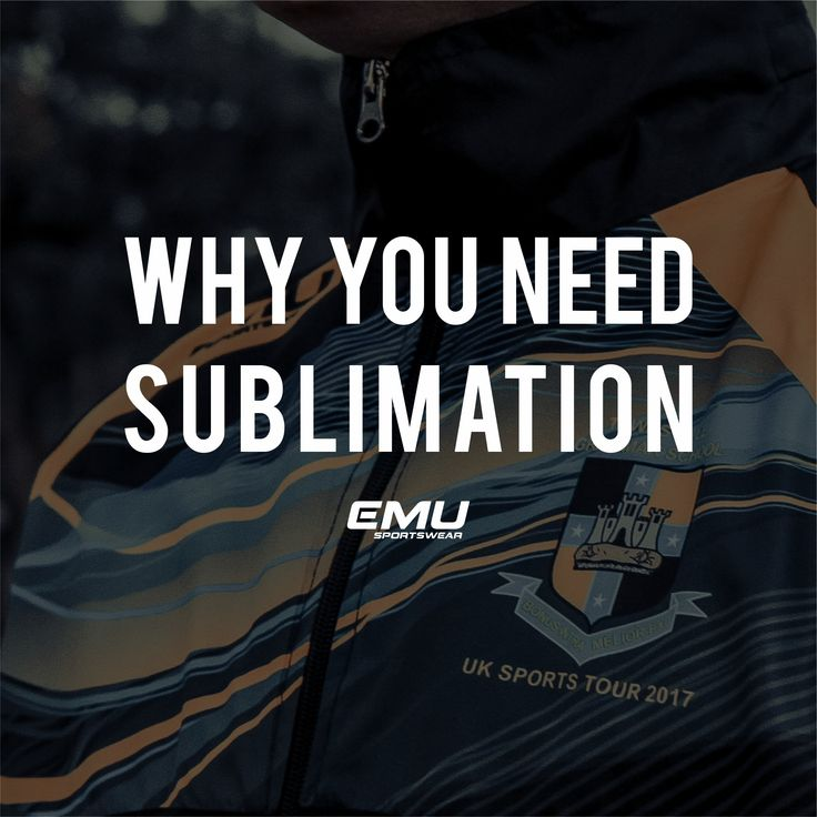 Custom Sportswear Sublimation -- What it means and what it means for you!