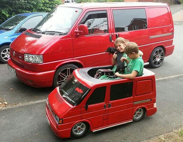 Anyone with kids and a vw T4...you need this!