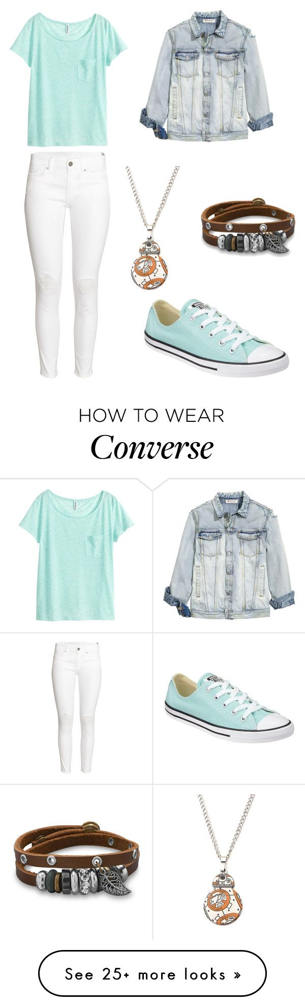 """""""Untitled #303"""" by angela229 on Polyvore featuring H&M, Converse and BillyTheTree"""
