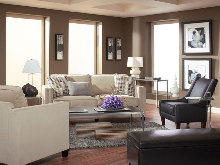 Great This Metropolitan Living Room Centers On The Streamlined Sophistication Of  The Devon Sofa And Chair.