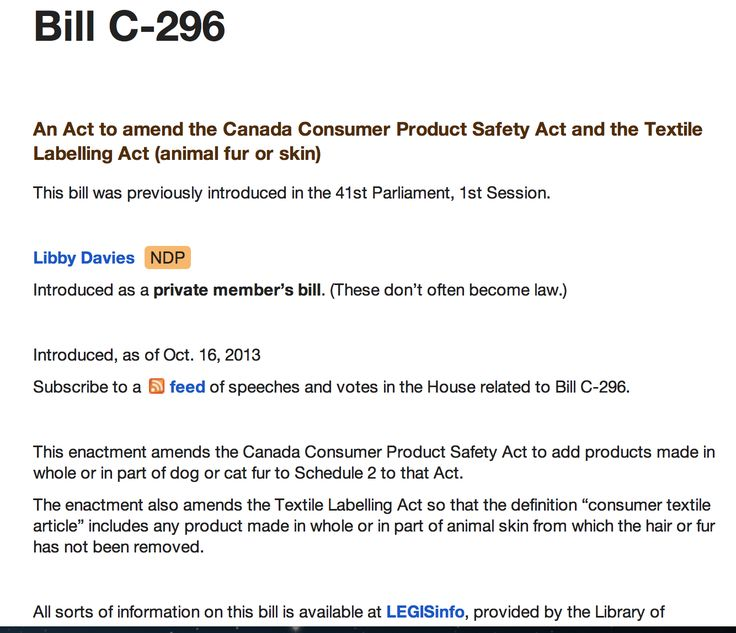 OUT OF ALL THE POLITICIANS IN CANADA..ONLY 2...TWO..HAD THE COURAGE AND DECENCY TO CREATE BILLS TO START THE DISGUSTINGLY LONG LOTTERY PROCESS TO ATTEMPT TO BAN DOG AND CAT FUR IN CANADA