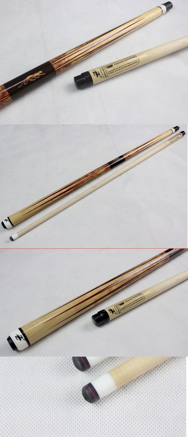 Cue Tips 75188: New Taco De Sinuca Pool Cues Billiard 11.5Mm Tips 1/2 Jointed Pool Cue Stick -> BUY IT NOW ONLY: $132.72 on eBay!