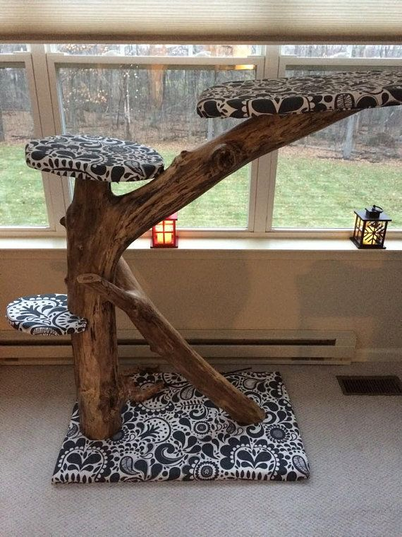 Hey, I found this really awesome Etsy listing at https://www.etsy.com/listing/215648578/tree-branch-cat-tree-will-not-ship