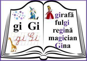 grupurile de litere -grupul GI