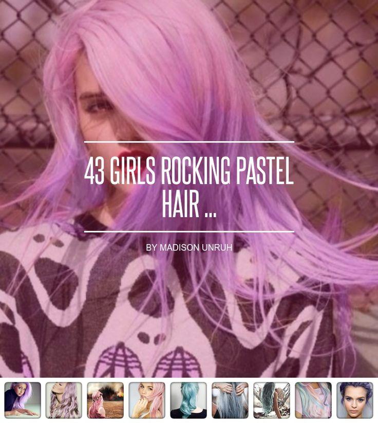 43 #Girls Rocking Pastel Hair ... - Hair