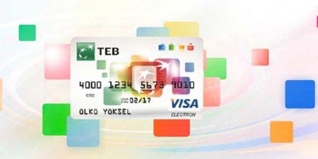 TEB banka kartı 75 TL ve üzeri alışverişe 15 TL indirim kampanyası