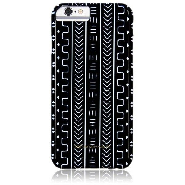 Savannah Hayes Mali Phone Case Black By ($38) ❤ liked on Polyvore featuring accessories, tech accessories and electronics accessories
