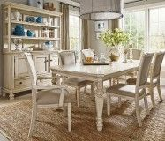 Martello Dining SKU: PKGMID693  The Martello dining collection is vintage casual with a gently distressed, vintage white finish.The Upper Room Home Furnishings, Ottawa's Premier Home Furniture Store.