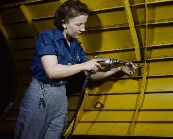 1940's Rosie the Riviter