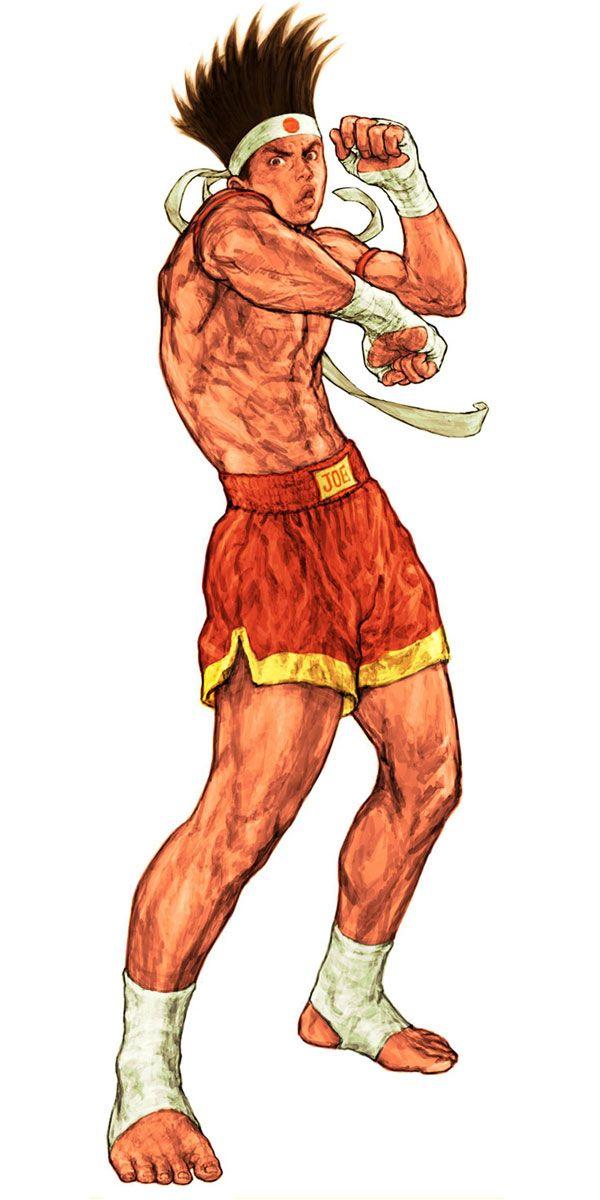 Joe Higashi (Fatal Fury) - Pictures & Characters Art - Capcom vs. SNK