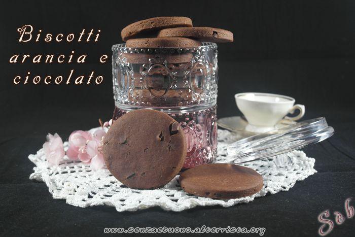 Biscotti #arancia e #cioccolato #senzaglutine #vegan e #senzasoia   http://senzaebuono.altervista.org/biscotti-arancia-e-cioccolato-senza-glutine-vegan/