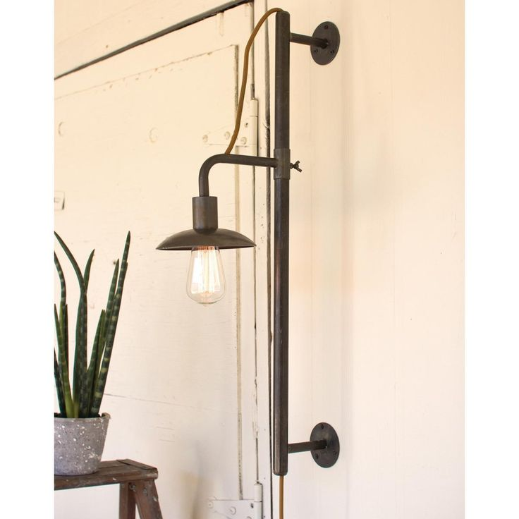 What S Hot On Pinterest Mid Century Table Lamps For Your Loft: 1000+ Ideas About Plug In Wall Sconce On Pinterest
