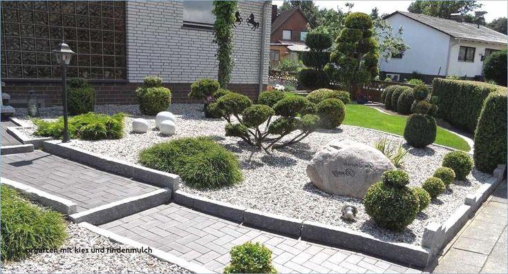 Gartengestaltung mit Kiesrolle, Rindenmulch Set Neu Gartengestaltung mit Ki …