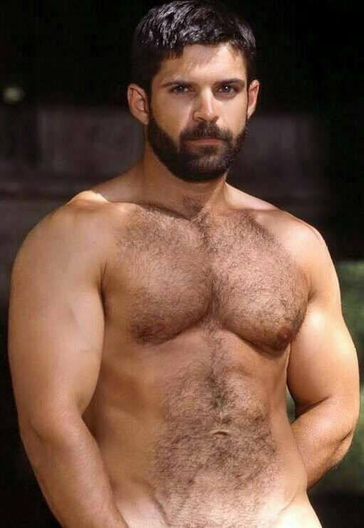 lean hairy guys