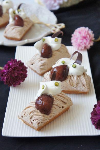 「和栗のモンブラン」nyonta | お菓子・パンのレシピや作り方【cotta*コッタ】