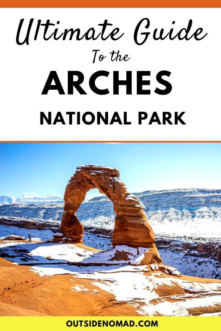 Wie man den Arches National Park im Winter besucht…