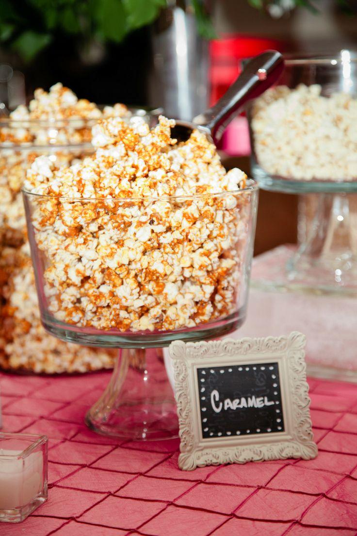 Popcorn Bar | http://www.stylemepretty.com/2013/11/19/washington-d-c-wedding-from-ampersand-photography | -Ampersand Photography