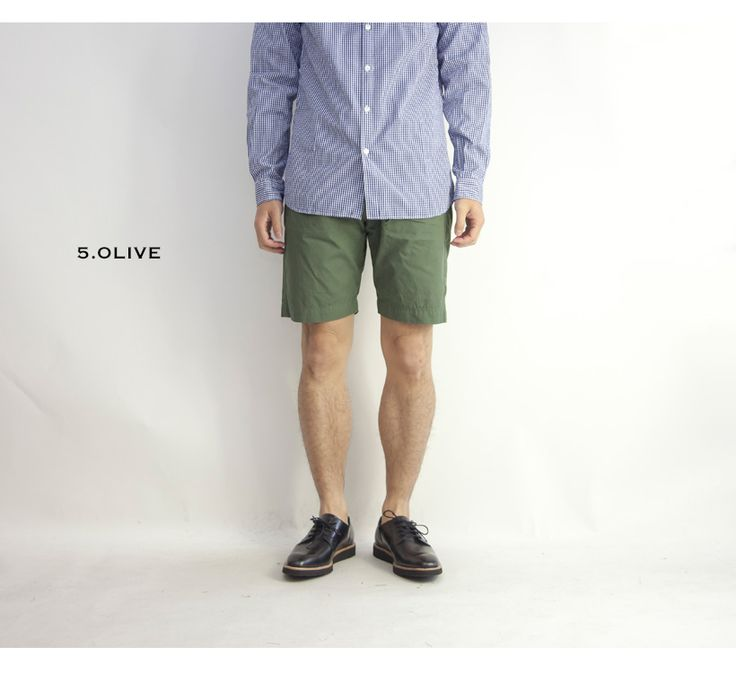 KAFIKA カフィカ 日本製 ダウンプルーフバミューダパンツ ショートパンツ メンズ