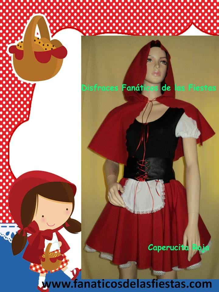 Disfraz de Caperucita Roja Nuevos , solo venta , enviamos a todo Chile tenemos variedad de tallas.