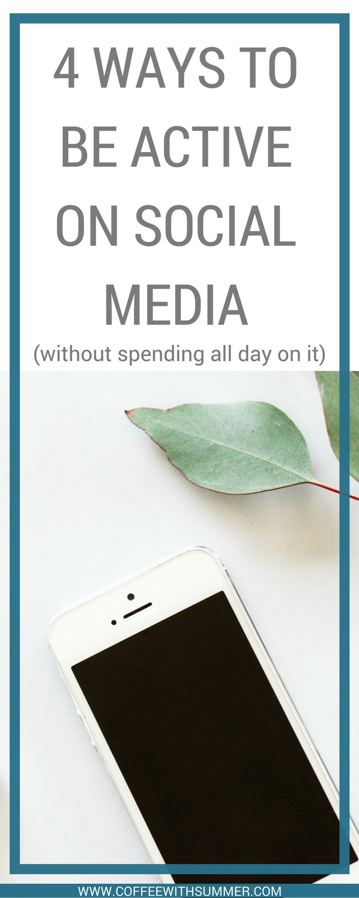 4 Ways To Be Active On Social Media (Without Spending All Day On It)