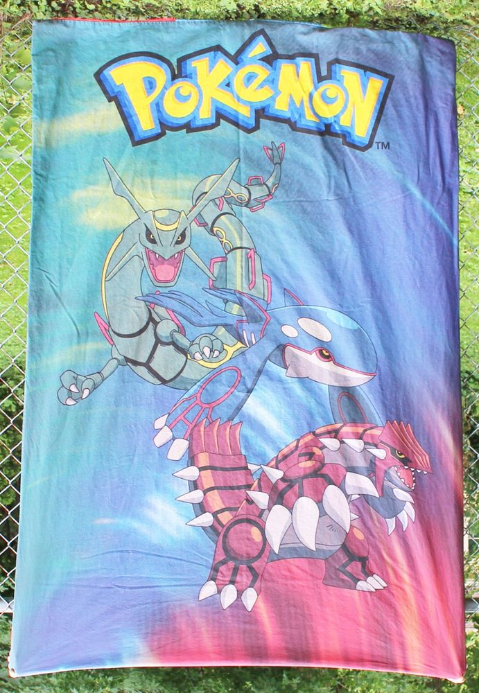 Pokemon Duvet Cover Bedding Fabric Crafts Cutter Kyogre