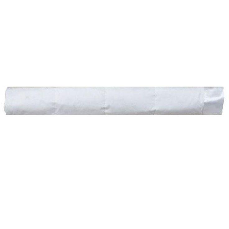 Down 96 in. W White King Cotton Blanket