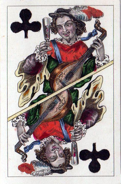 """Vier Jahreszeiten""/Seasons (52 cards), 1859 designed by Josef Surch (1811-1877), ""Piatnik"" (Austria), dimension 59x91 mm; gold edges, but bottom is silver; Braun 4660 - poker playing cards, vintage playing cards, deck of cards, card deck, unique playing cards, art of play cards, design play cards, cool playing cards, cardistry, jugando a las cartas, karty do gry, игральные карты, винтажные игральные карты, карты"