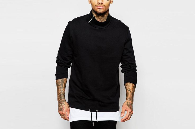 Check out the Funnel Neck Sweater on WHATDROPSNOW