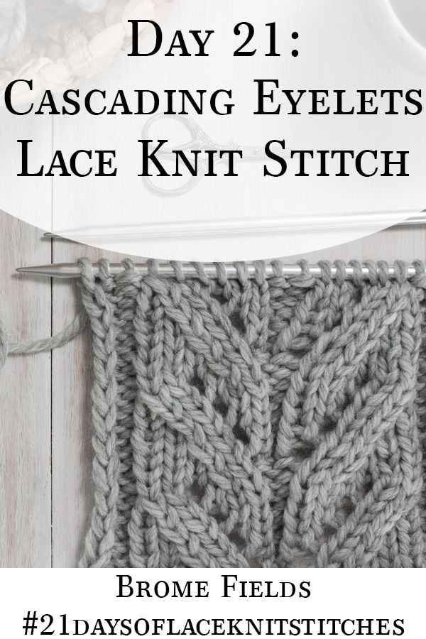 Trailing Lace Leaves Knitting Stitch Pattern For Sweater - Youtube