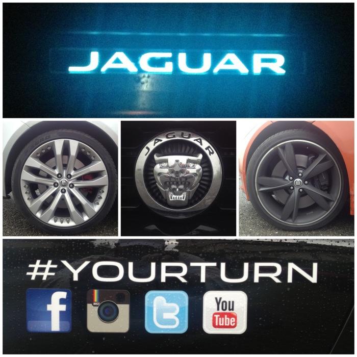 un pò di dettagli della Jaguar F-Type